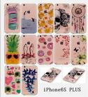 Clear Gel Cartoon pattern Soft TPU Pone Case Cover For iphone 5/6s/6/6s 7 Plus