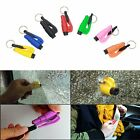 New Mini Safety Keychain Car Emergency Rescue Glass Breaker Hammer Escape Tool