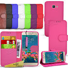 For Samsung Galaxy J5 PRIME -Wallet Leather Case Flip Cover + Screen Protector