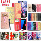 For Samsung Galaxy S7 EDGE Wallet Flip Stand Leather Case Cover FREE STYLUS PEN