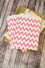 crafty colorful THIN Chevron ZIG ZAG paper bags party favour giveaway treat bags