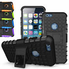 For iPhone 6 / 6S / Plus Hybrid Armor Heavy Duty Bumper Hard Case Cover&Stand