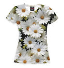 Women T-Shirts Tops with Cats Animals Flowers Hedgehogs