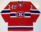 PATRICK ROY MONTREAL CANADIENS 75th ANNIVERSARY CCM MASKA JERSEY
