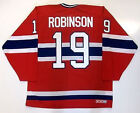 LARRY ROBINSON MONTREAL CANADIENS CCM MASKA JERSEY