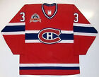 PATRICK ROY MONTREAL CANADIENS 1993 CUP CCM MASKA JERSEY