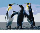 Penguins Needlepoint Kit or Canvas (Bird /Animal)