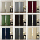 Chezmoi Collection Solid BackTab Thermal Insulated Blackout Window Curtain Panel
