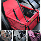 Newly Dog Booster Car Seat Safe Basket Puppy Travel Auto Carrier Bag Pet Supply