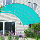 Customize12' Solid Straight Edge Hemmed Sun Shade Sail Canopy Shade Cloth 220GSM