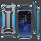 R-Just GUNDAM For Samsung Galaxy S8 & S8 Plus Armor Metal Shockproof Cover Case