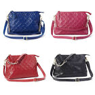 Fashion Women Zipper Genuine Leather Handbag Shoulder Crossbody Bag Messenger