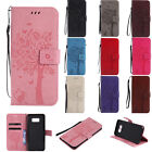 Card Holder Leather Flip Wallet Case Cover Stand Floral For Various Phone