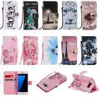 Pattern Card Flip Stand Magnetic Wallet Leather Case Cover For Various Phone