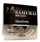Daiwa Samurai Braided Fishing Line 300 Yards Green Fishing Line