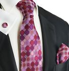 Purple Rain Silk Tie and Accessories