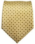 Gold Checkered Men's Tie