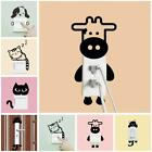 Funny Cartoon Wall Stickers Light Switch Decals Mural Living Room Home Decor LD