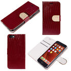Magnetic Luxury Leather Card Wallet Flip Case Cover for Apple iPhone 7 6S 6 Plus