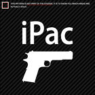(2x) iPac Sticker Die Cut many colors
