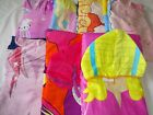 Girls Poncho Hooded Beach Towel  Age 5 - 9 Including NEW Ballerina & Flamingo