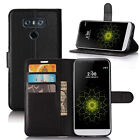 For LG G6  Cover Magetic Stand Wallet TPU Leather Flip Card Slots Slim Thin Case