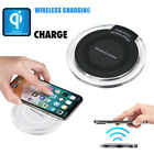 Portable Mini Acrylic QI Wireless Charger Charging Pad Mat For Iphone 8/8 Plus/X
