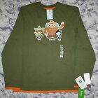 2010 VANCOUVER OLYMPICS BOY'S 3 - MASCOTS LONG SLEEVED SHIRT - NEW WITH TAGS