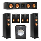 Klipsch 5.1 System with 2 RP-250F Tower Speakers, 1 RP-440C Center Speaker, 2 Kl