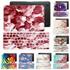 """Laptop Painted Flower Hard Rubberized Case Cover For Macbook Pro Air 11"""" 13"""" 15"""""""