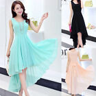 Fashion Women Chiffon Short Dress Prom Evening Party Cocktail Bridesmaid Wedding
