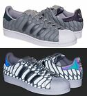 Adidas Superstar SHELL TOE Xeno Grey Onix 3M Mens Shoes D69367 Sneakers $110 NEW