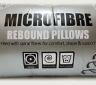 Super Soft Microfibre Rebound Pillows Hotel Quality Pack of 2, 4 or 8