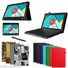 "New Nextbook Ares 11 11.6"" Tablet Leather Case Cover with Free Screen Protector"