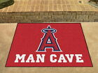 Los Angeles Angels Man Cave Area Rug Choose from 4 Sizes