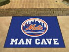 New York Mets  Man Cave Area Rug Choose from 4 Sizes
