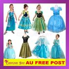 Disney Frozen Costume Elsa Anna Queen Princess Girl Birthday Party Dress Tutu
