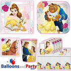 Disney Belle Beauty & the Beast Birthday Party Tableware Decorations Supplies