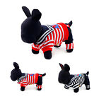 New Petcircle Cute Fashion Navy Stripe Sweatshirt Clothes for Dog Puppy