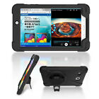 Defender Shockproof Stand Wrist Case Screen Protector For Samsung Tab E 8.0 T377