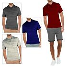 Threadbare Mens Ferndale T Shirt New Designer Marl Effect Chest Pocket Top