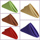 "50 pcs 17"" Polyester Napkins Wedding Table Top Supply Wholesale Decorations"