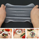 4PCS Silicone Wraps Kitchen Seal Cover Stretch Cling Film/Fresh Food Keep Tool