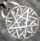 Coexist Universal Beliefs Star of David Pentacle disterbed silver Pewter pendant
