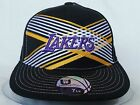 UNISEX VINTAGE URBAN  HIP HOP LAKERS FLAT PEAK BASEBALL CAP HAT SPORT