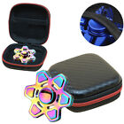 FOR HAND SPINNER FINGER TOY FOCUS ADHD AUTISM STORAGE BAG BOX CARRY CASE ACTURAL