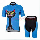Women's Bike Bicycle Cycling Sportwear Short Sleeve Clothing Jersey Shorts Suits