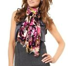 Joan Rivers Watercolor Floral Scarf with Sequin Detail A221521