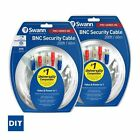 Swann Bnc Power Cable 15m 30m 60m x 2 Twin Pack Cctv Security Video Cables