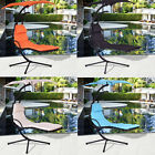 Outdoor Patio Yard Swing Hammock with Canopy Sun Shade Re...